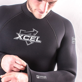 SET ANGEBOT - XCEL Hydroflex SLX 7-6-5 & Thermoflex Hooded Shorty (Herren) - Kaltwasser-Kombi